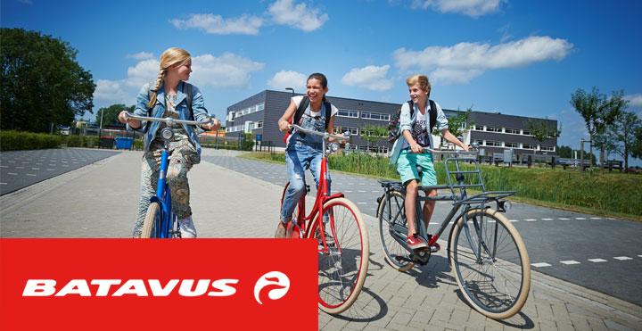 Batavus kinderfietsen fietsen